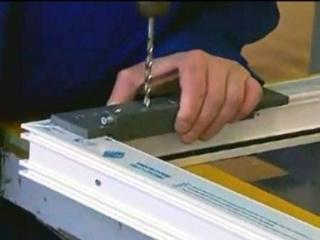 آموزش ساخت درب و پنجره upvc
