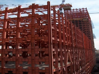 بهترین شرکت ساخت اسکلت فلزی در تهران