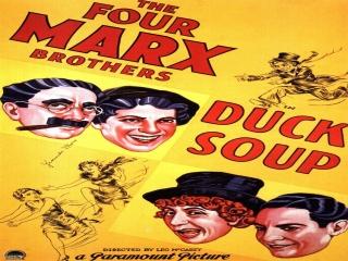 فیلم سوپ اردک ، کمدی 1933