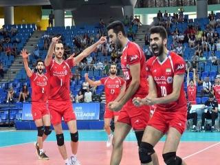 پیروزی والیبالیستهای ایران برابر لهستان بیدفاع