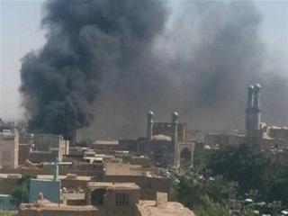 انفجار در نزدیکی مسجد جامع هرات در غرب افغانستان