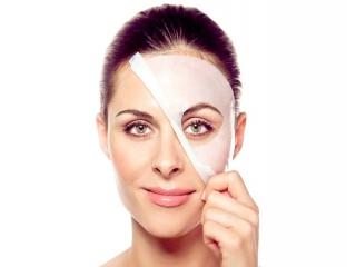 ماسک صورت حاوی هیالورونیک اسید
