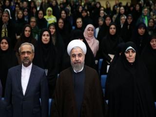 روحانی در ضیافت افطار با فعالان حوزه زنان و خانواده سوم تیر 96