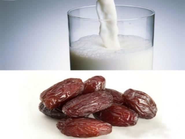 رژیم لاغری با شیر و خرما