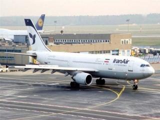 آتش گرفتن موتور هواپیمای ایرباس در فرودگاه امام خمینی(ره)