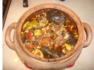 خوراک قفقازی با گوشت چرخ کرده
