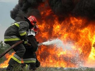 آتش سوزی در نیروگاه حرارتی تبریز