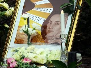 مراسم یادبود پروفسور مریم میرزاخانی در اصفهان