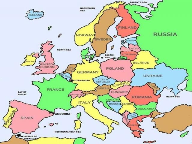 قاره اروپا شامل چه کشورهایی است؟