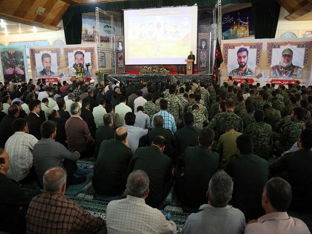 مراسم بزرگداشت شهید مدافع حرم محسن حججی در تهران