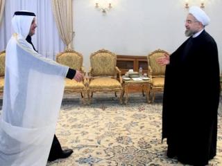 سفیر قطر در تهران آغاز به کار کرد