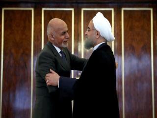رییس جمهور افغانستان با روحانی دیدار کرد