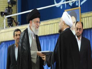 آغاز مراسم تنفیذ حکم ریاست جمهوری حسن روحانی