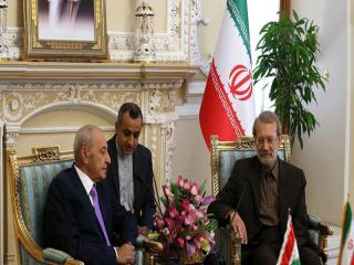 آقای لاریجانی با رییس مجلس لبنان دیدار کرد