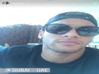 استوری نیمار در دبی جنجالی شد