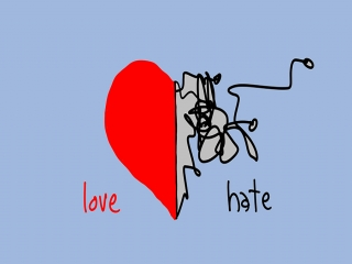 نقطه مقابل عشق چیست
