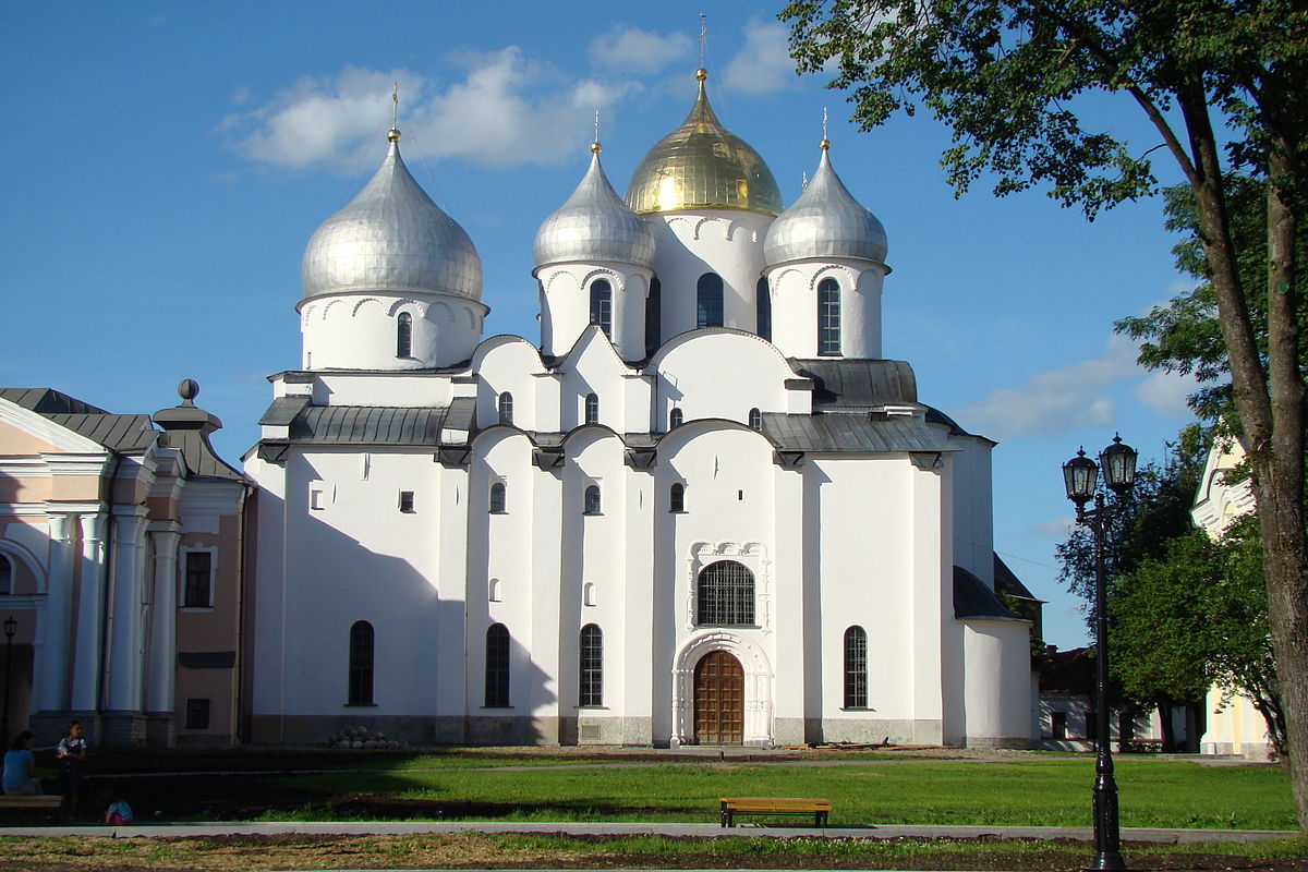کلیسای جامع سنت سوفیا از جاذبه های دیدنی روسیه