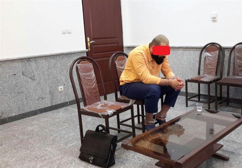 بازجویی از حمید صفت درباره قتل نا پدری اش
