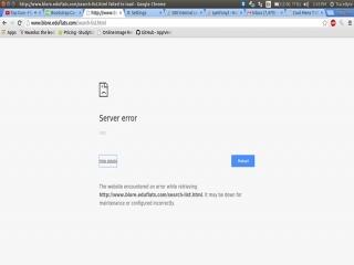 خطای HTTP ERROR 500 وب سایت