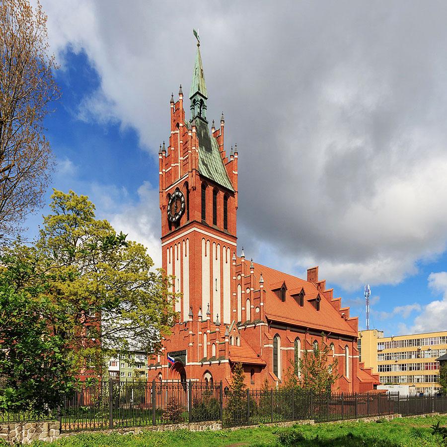 کلیسای خانواده ی مقدس در کالینینگراد