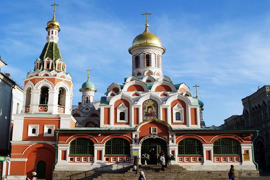 کلیسا جامع کازان - مسکو
