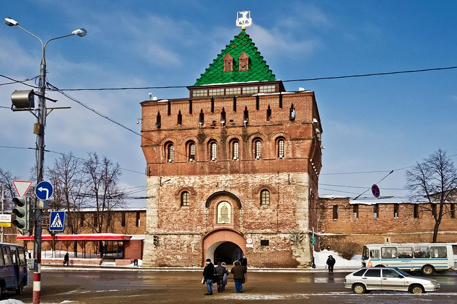 برج دیمیتریوسکایا - نیژنی نوگراد