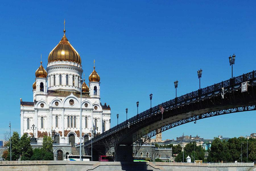 کلیسای جامع مسیح منجی - مسکو