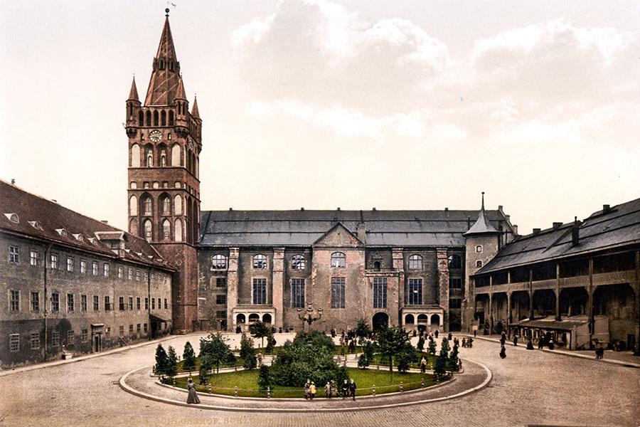 قلعه کونیگزبرگ در کالینینگراد