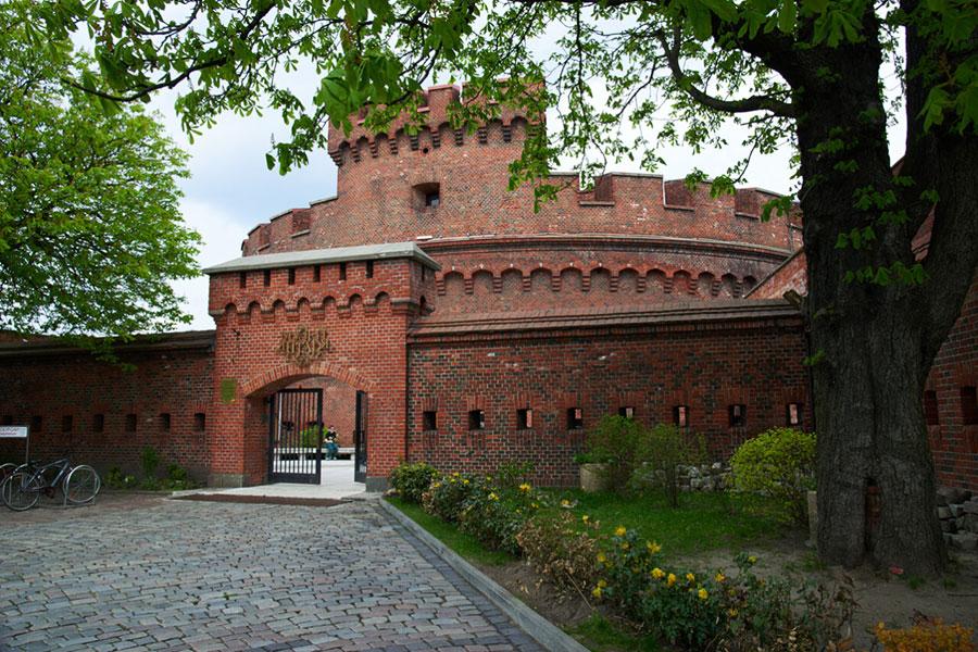 برج دوهنا - موزه کهربا در کالینینگراد