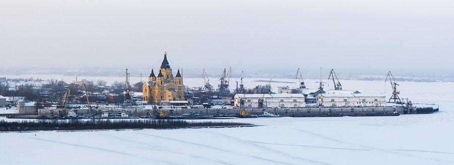 زمستان نیژنی نوگراد