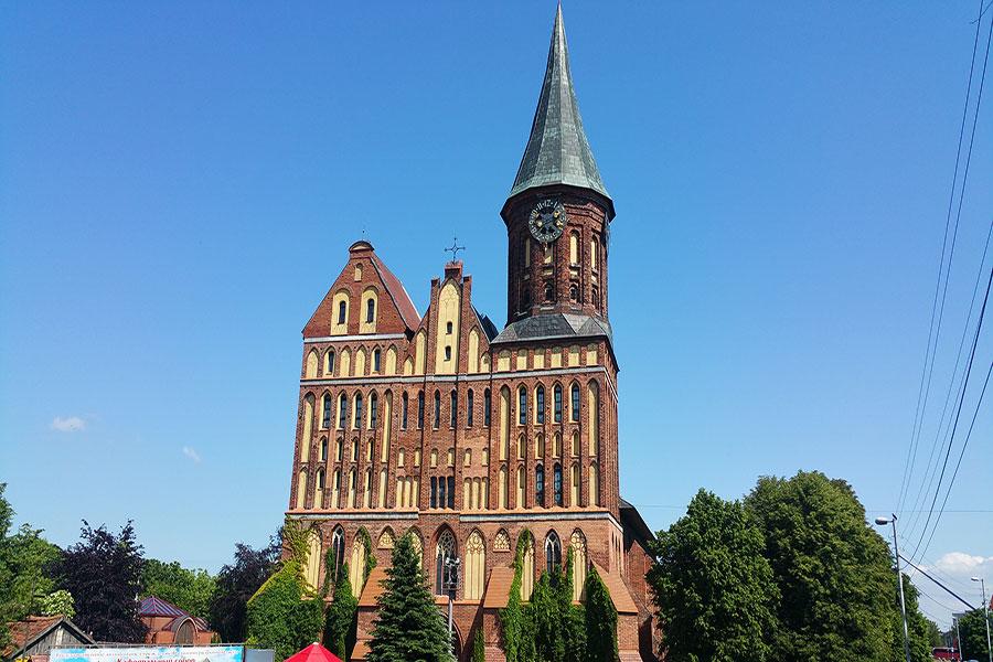 کلیسا جامع کونیگزبرگ در کالینینگراد