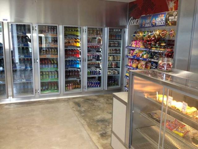 یخچال های صنعتی و صنایع برودتی ، انواع فریزر فروشگاهی