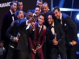 بهترین های دنیای فوتبال سال 2017  + عکس های مراسم