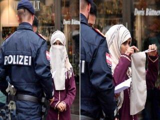 استفاده از برقع در اماکن عمومی اتریش ممنوع شد