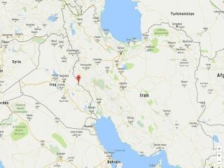 زلزله 5.3 ریشتری دیروز حوالی مهران را لرزاند