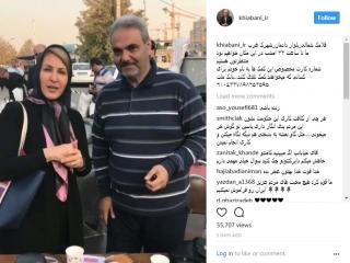 جواد خیابانی ، کمکها و انتقادها به سودجویان از زلزله کرمانشاه
