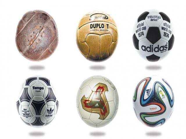 توپهای جام جهانی در گذر زمان + عکس