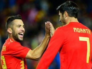 پیروزی تیم ملی اسپانیا مقابل کاستاریکا با پنج گل
