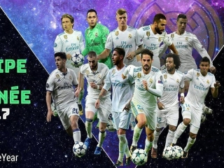 رئال مادرید تیم سال 2017 شد