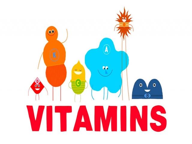 ویتامین های مورد نیاز بدن و تاثیرات ویتامین ها