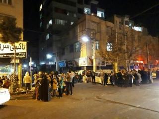 زلزله 5.2ریشتری و 10پسلرزه درتهران/ تهران، البرز و قم تعطیل شدند