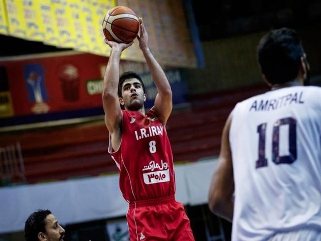بهنام یخچالی در تیم دوم بازیکنان آیندهدار بسکتبال آسیا