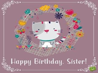 پیامک تبریک تولد خواهر