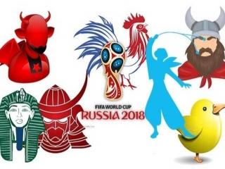 لقبها و نمادهای حیوانی 32 تیم حاضر در جام جهانی 2018