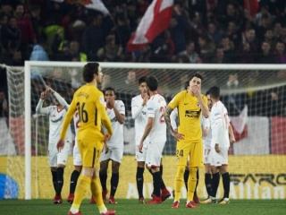 اتلتیکومادرید با شکست مقابل سویا، از جام حذفی اسپانیا کنار رفت