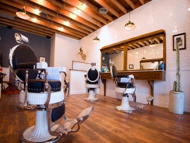 طراحی دکور آرایشگاه مردانه