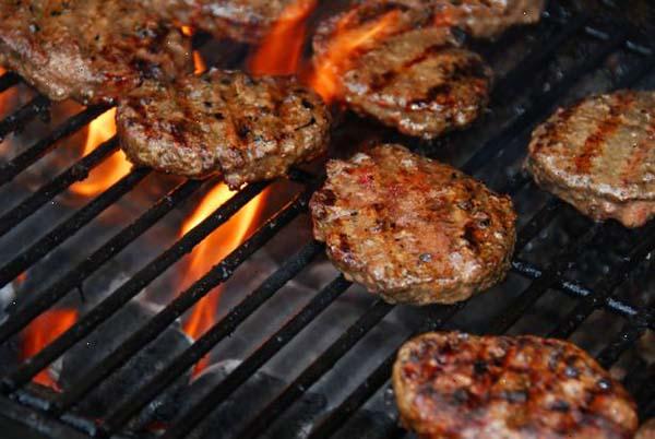 طرز تهیه همبرگر ذغالی خانگی-recipes of homemade charcoal hamburgers