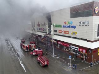 آتش سوزی در یک مرکز خرید در مسکو حداقل 64 کشته بر جای گذاشت