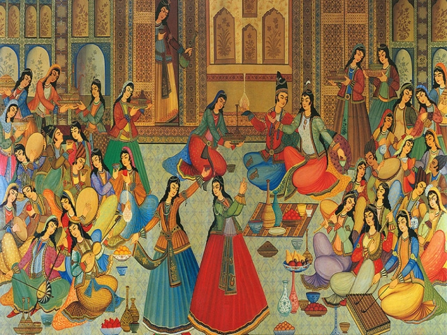 آداب و رسوم ایرانیان باستان در عید نوروز