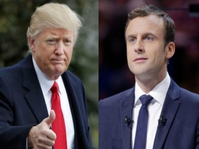 تدارک ترامپ برای میزبانی از رئیسجمهور فرانسه